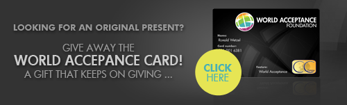 Get the World Acceptance Card